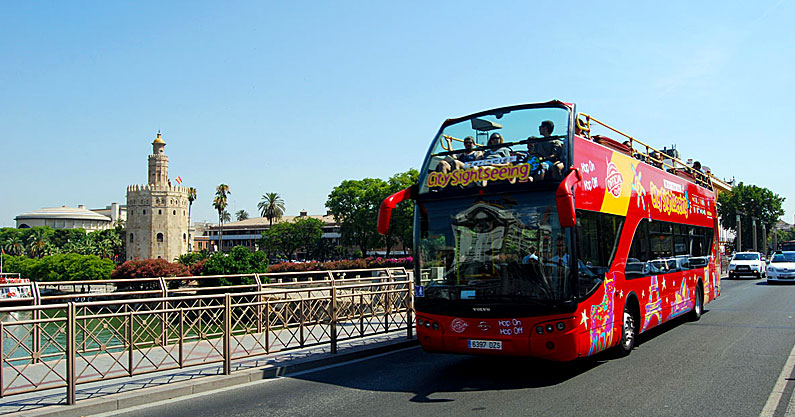 Tour en Autobús Citysightseeing Sevilla | Hostal Jentoft
